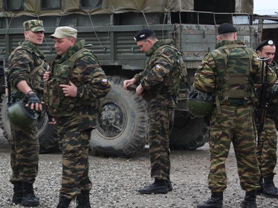 Политика: Военные определяют расположение войск на местности