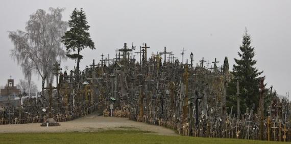 Интересное: Священная гора крестов