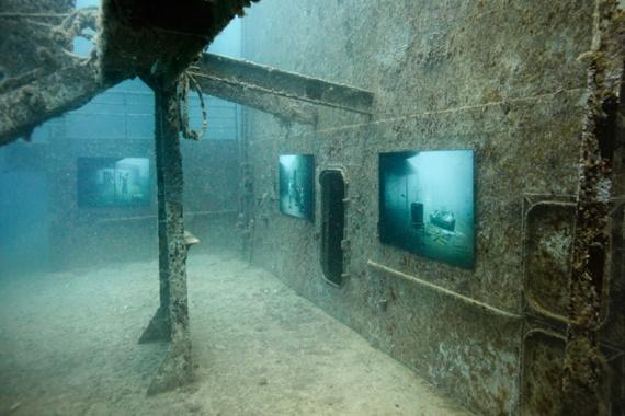 Интересное: Затонувшее судно