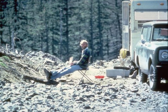 Проишествия: Предсмертное фото вулканолога