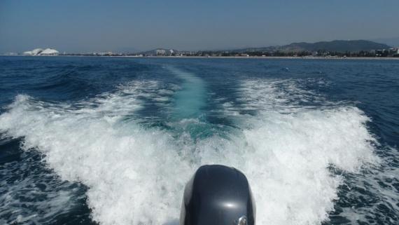 Адлер. Море.