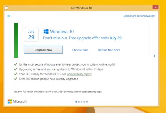 Технологии: Microsoft удаляет «Получить Windows 10»