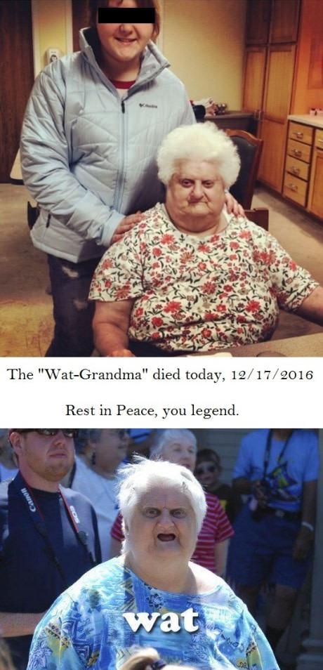 Новости: Вчера умерла легендарная бабуля