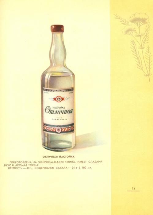 Интересное: Каталог вино-водочных изделий 1957 года