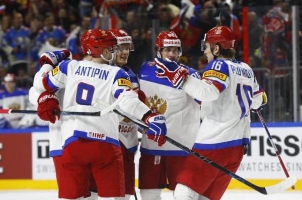 Спорт: ЧМ мира по хоккею:  Россия - Германия  6:3 !