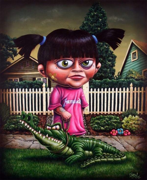 Картинки: Страшные мультики