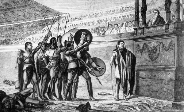 История: Как готовили гладиаторов