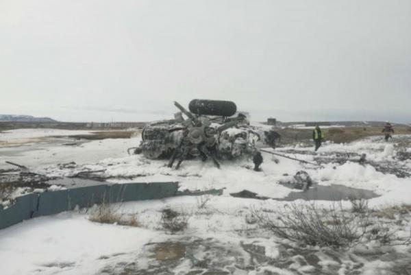 Происшествия: В аэропорту Чукотки разбился МИ-8
