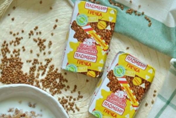 Безумный мир: В Новосибирске запустили производство мороженого с гречкой