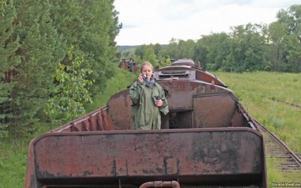 Интересное: Кладбище паровозов в уральских лесах