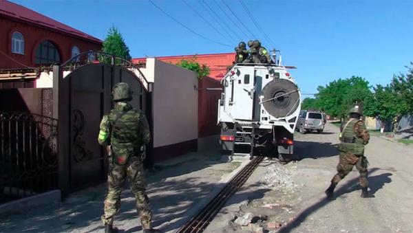 Терроризм: В Ингушетии в городе Сунжа идёт бой с блокированной группой шайтанов