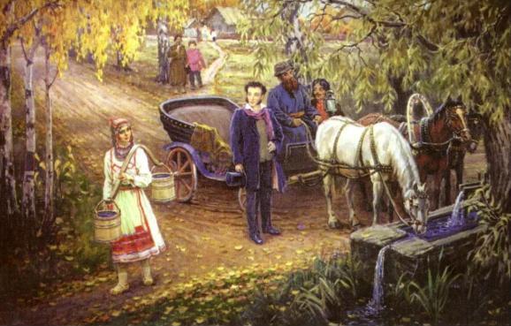 История: Как Пушкин обращался со своими крепостными