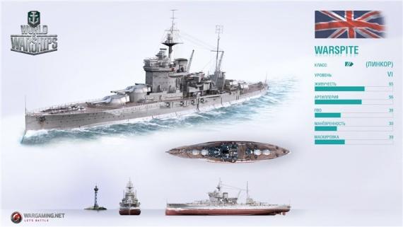 Блог Fortanol: World of Warships Чёрный Warspite