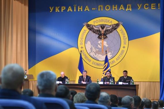 Новости: Нацистский девиз, сова и меч, пронзающий Россию: Порошенко узаконил эмблему ГУР