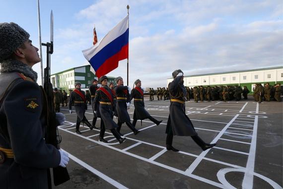 История: Новости: В России воссоздана бравшая Рейхстаг 150-я мотострелковая дивизия
