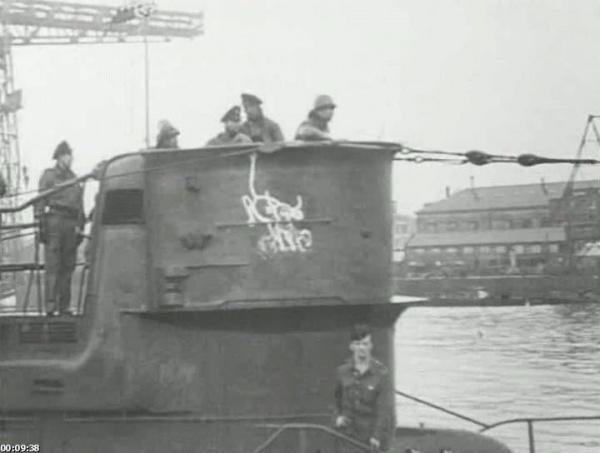 Интересное: Германская подлодка серия VIIC