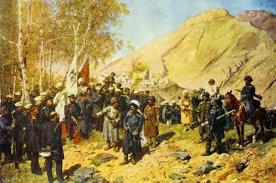 Интересное: Картину «Взятие аула Гуниб и пленение Шамиля» планируют вернуть в национальный музей Чечни