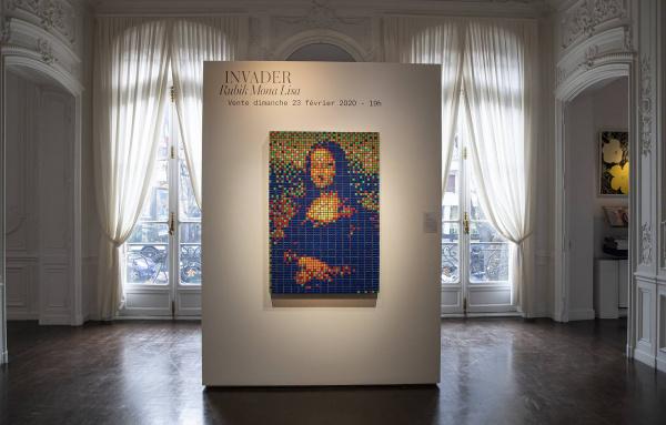 Интересное: Мону Лизу из кубиков Рубика продали на аукционе почти за €500 тыс.