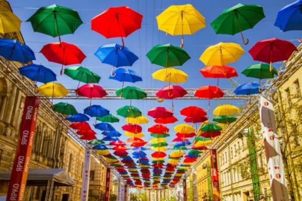 Интересное: Зонт и правила этикета