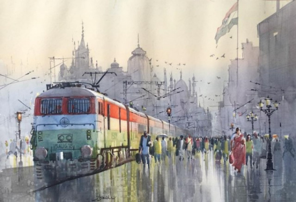 Картинки: Работы Биджаянанды Бисвала