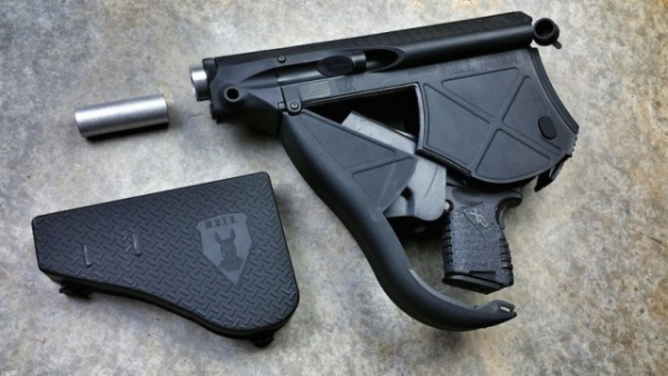 Интересное: Приклад-кобура от M.U.L.E. Tactical