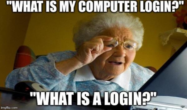 Интересное: Откуда пошло известное слово логин (login)