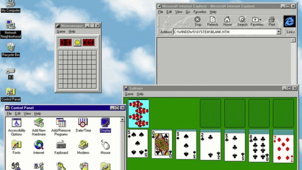 Технологии: Windows 95 уже 25 лет