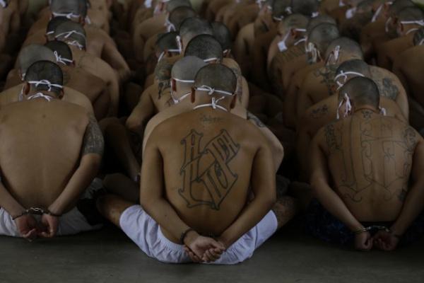 Интересное: Кадры из тюрем Сальвадора