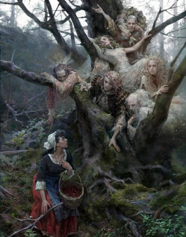 Картинки: Упоротые картинки от Юли Литвиновой
