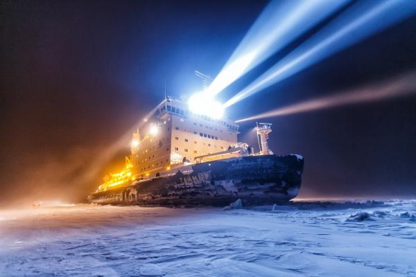Интересное: Атомный ледокол «Таймыр», работающий в Арктике