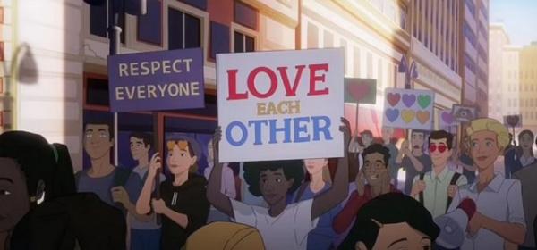 Безумный мир: США запустили призывную кампанию с лесбийской свадьбой и гей-парадом