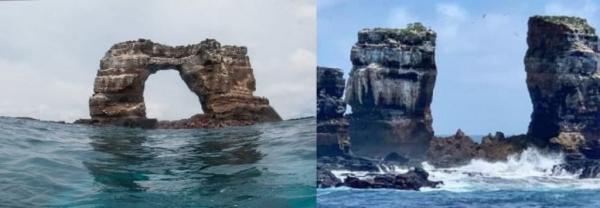 Природа: На Галапагосах обрушилась знаменитая Арка Дарвина