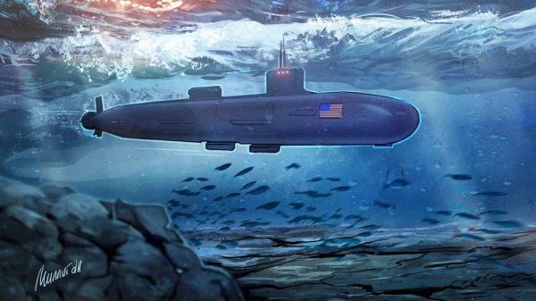 Происшествия: Американская АПЛ столкнулась с неизвестным объектом в Южно-Китайском море