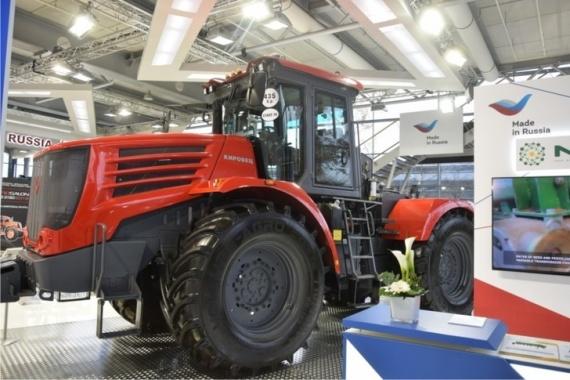 Экономика: Интересное: Петербургский тракторный завод начал поставки «Кировцев» в Канаду