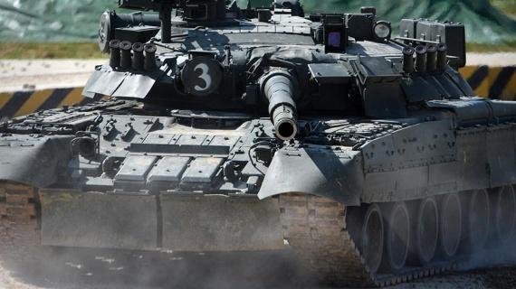 Война: Весь мир в труху. Опубликовано видео испытаний новейшего танка Т-90МС