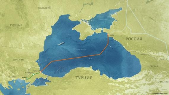 Экономика: Морская и наземная части «Турецкого потока» соединены в Турции