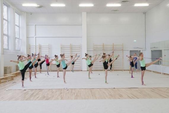 Спорт: Жизнь: Новый Центр художественной гимнастики открылся в Туле