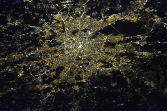 Интересное: Песочница: Вид на города России с МКС
