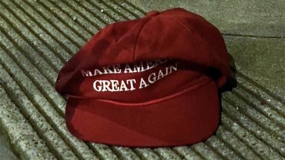 Криминал: Американец мечом отрубил руку незнакомцу из-за кепки с лозунгом Трампа