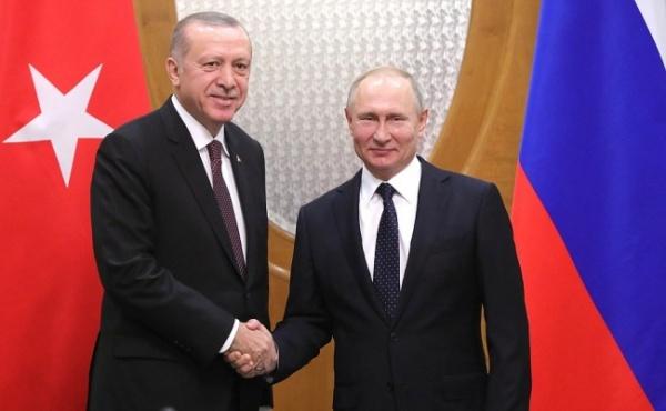 Политика: Общество: В Москве 8 апреля состоится встреча Путина и Эрдогана