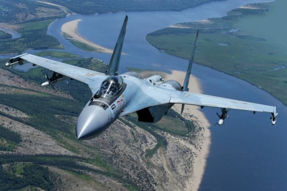 Война: Российские истребители отразили атаку ВВС Израиля в небе над Дамаском