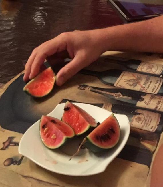 Природа: Урожай арбуза.