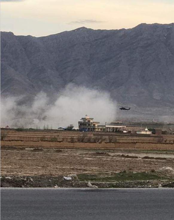 Терроризм: Война: Террорист-смертник убил четырех американских военных в Афганистане