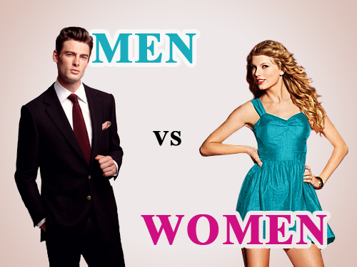 a comparison of men and womens abilities