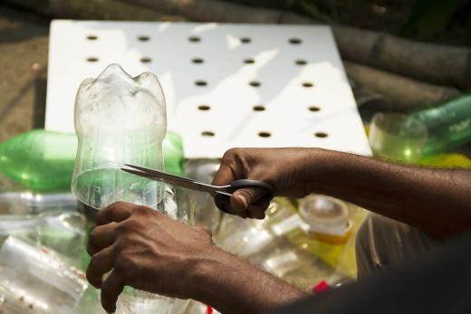 Кондиционер в авто из пластиковых бутылок