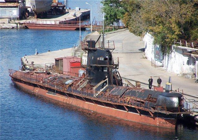 подводная лодка в харькове